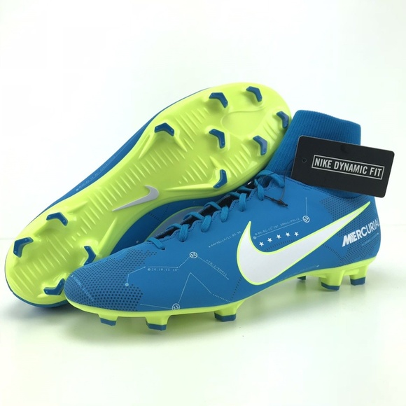 design intemporel 3e27d 30a64 Nike Mercurial Vapor VI FG DF Neymar Soccer Cleats NWT